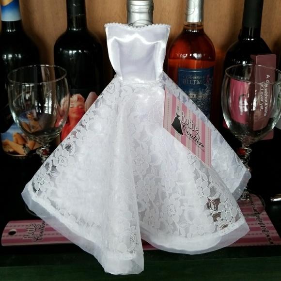 Accessories Wine Bottle Coverbridal Dress I Do Poshmark